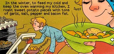 Recipe Comix: Orange Foods