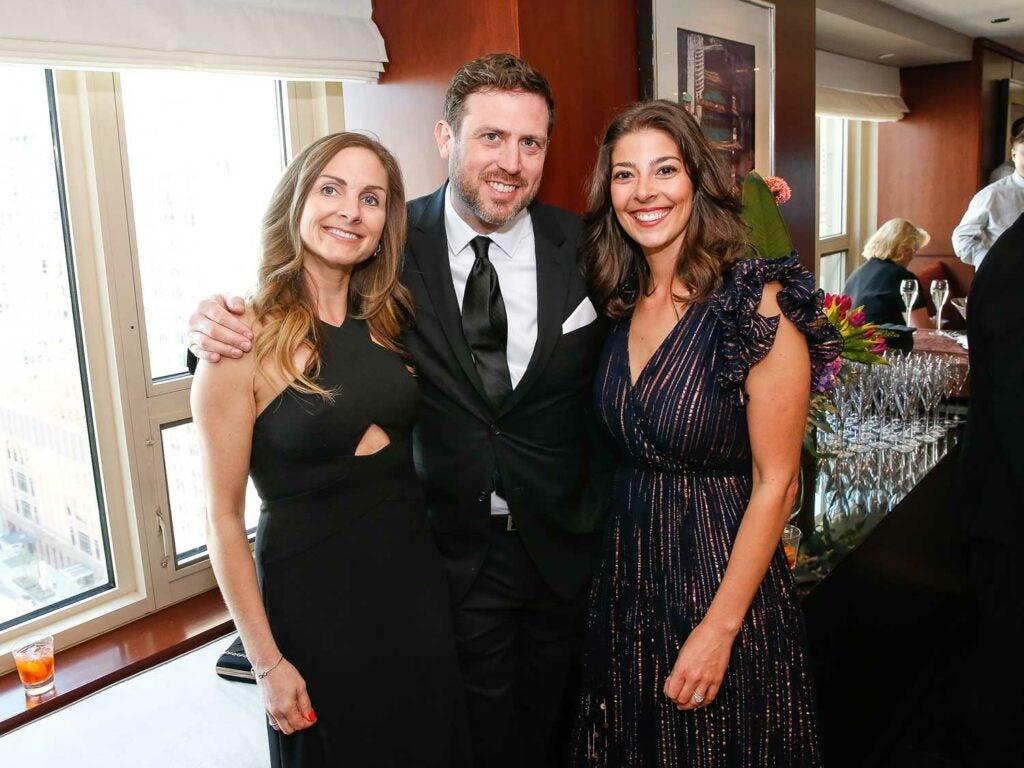 Juanita Dickson, Matt Rogel with Stacy Adimando