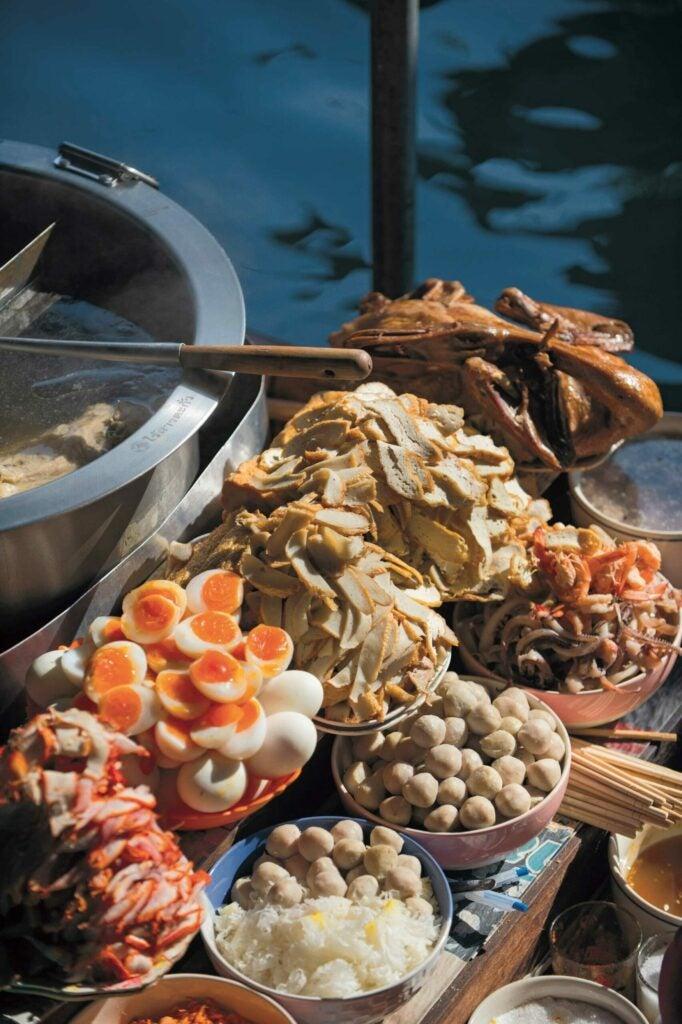 Boat noodles (kuai teaw moo nam tok)