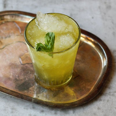 Friday Cocktails: The Basil Julep
