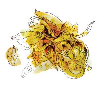 Dried Orange Blossoms