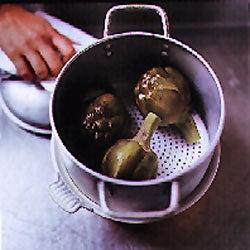 Preparing Artichokes