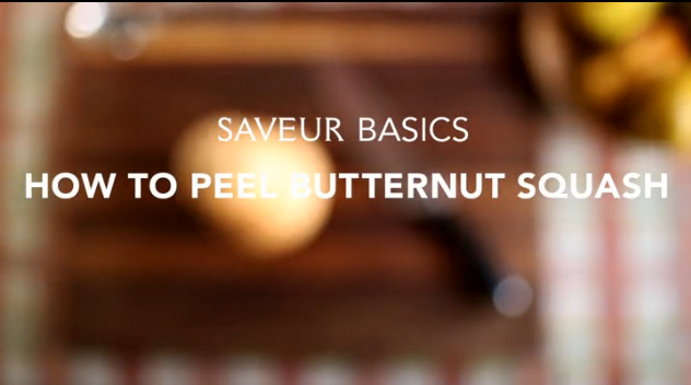 VIDEO: How to Peel Butternut Squash
