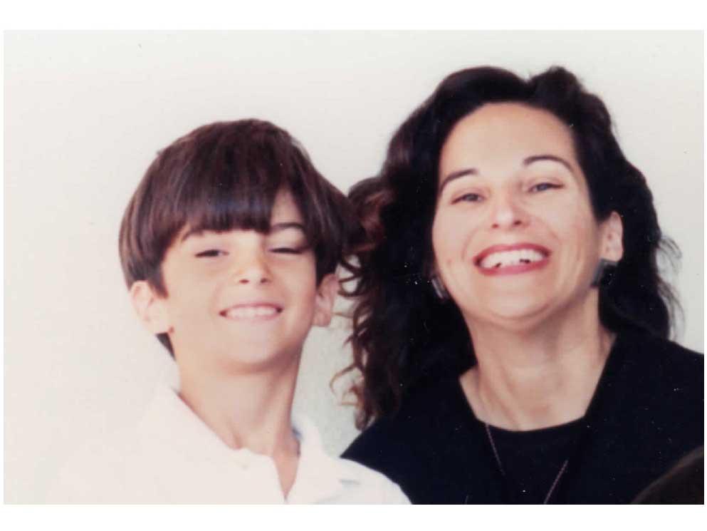 Tyler Watamanuk and Mother