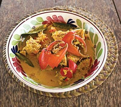 Ginger Crab (Mkamba Wa Tangawizi)