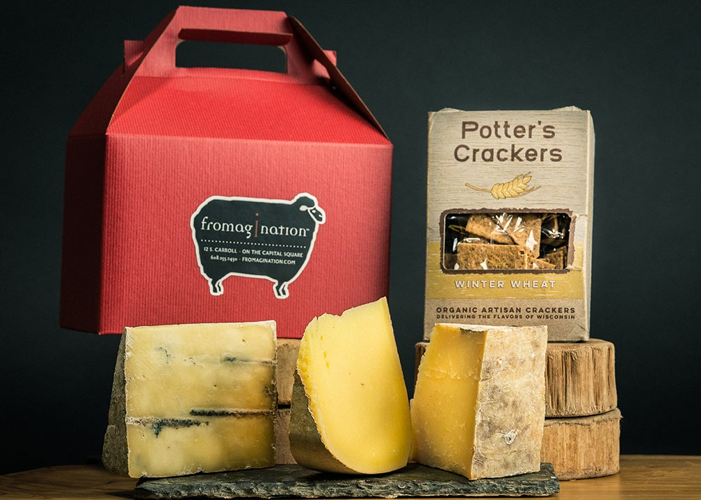 Cheese tasting sets from Fromagination