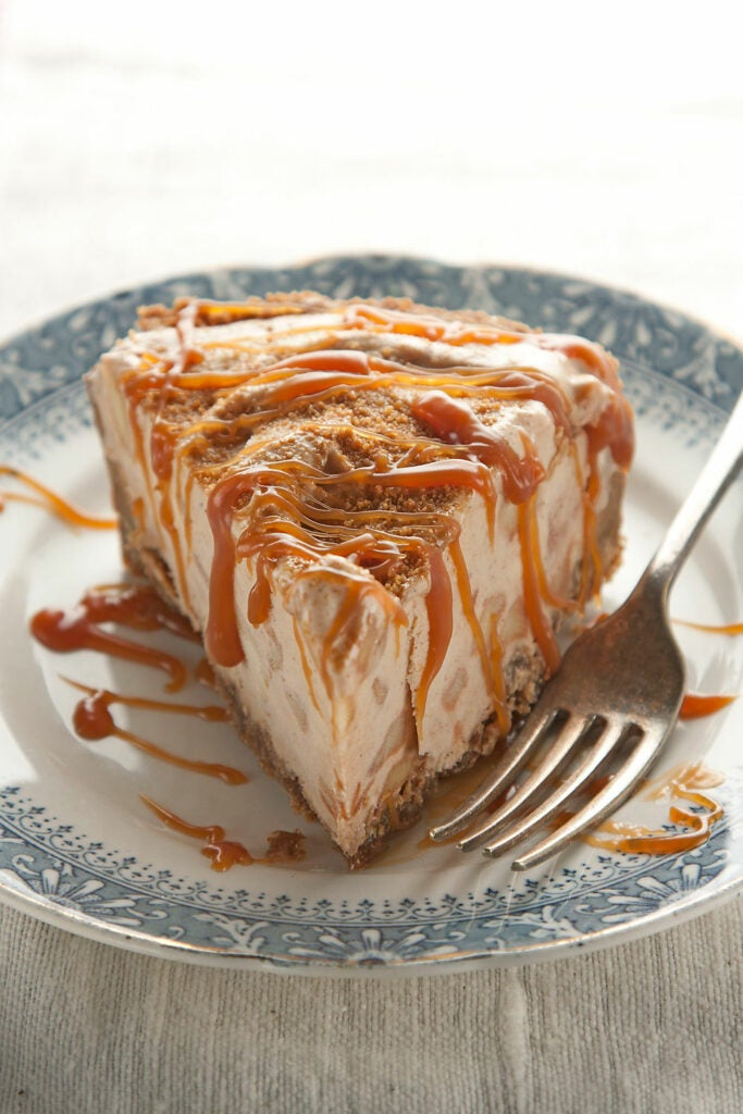 Apple Pie Ice Cream Pie for 4th of July Recipes