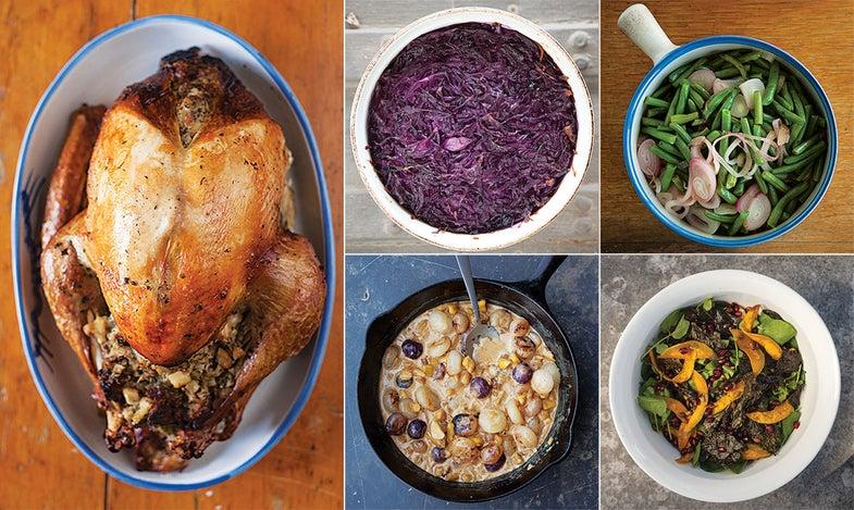 A Heartland Harvest Thanksgiving menu