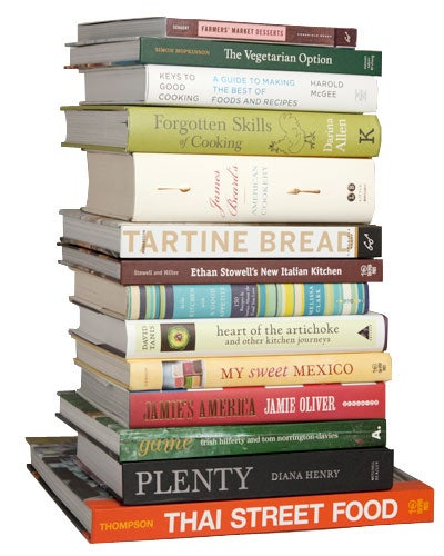stack of Cookbook