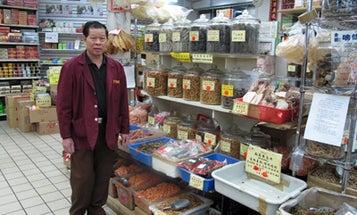 Postcard: Po Wing Hong Food Market