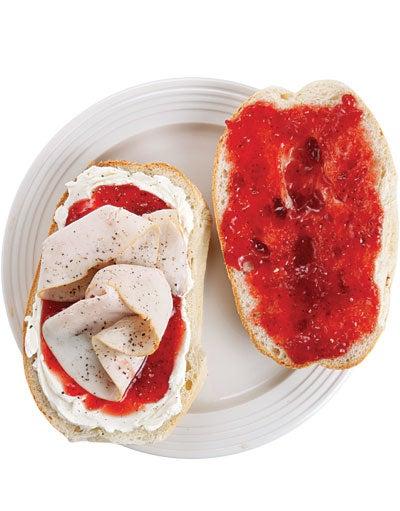 Elena Ruz (Cuban Turkey Tea Sandwich)