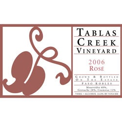 Tablas Creek, Paso Robles (California) Rosé 2006