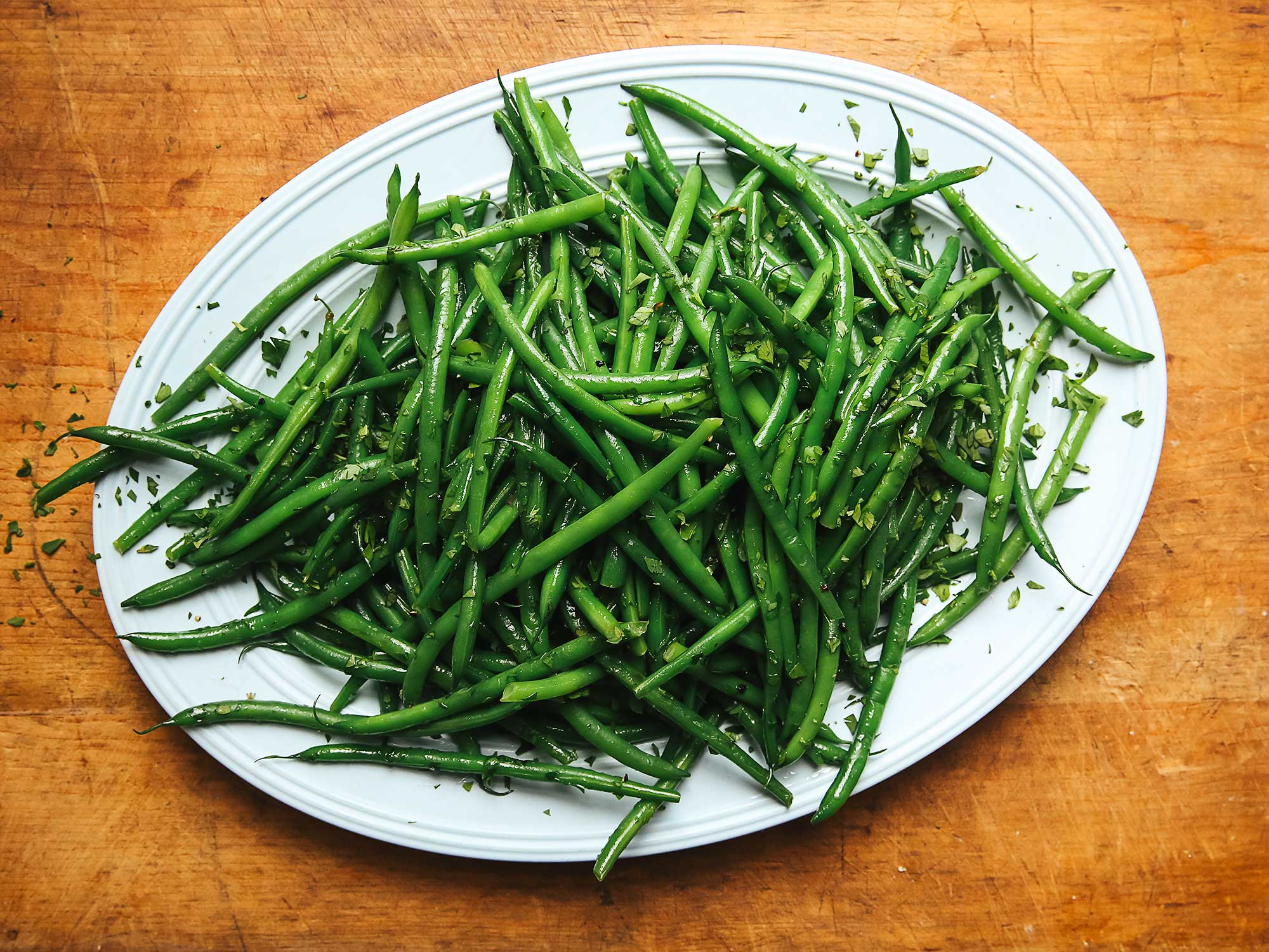 Herbed Hericots Verts