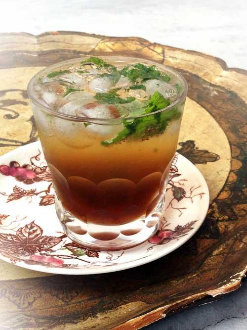 Sparkling Mint Cocktail