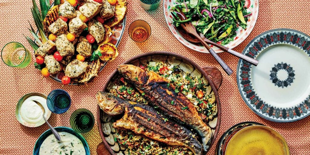 middle eastern fish fry