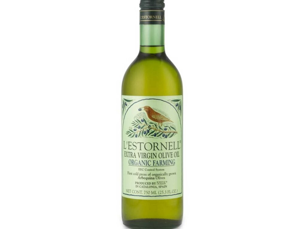 Nutty and vibrant extra virgin olive oil
