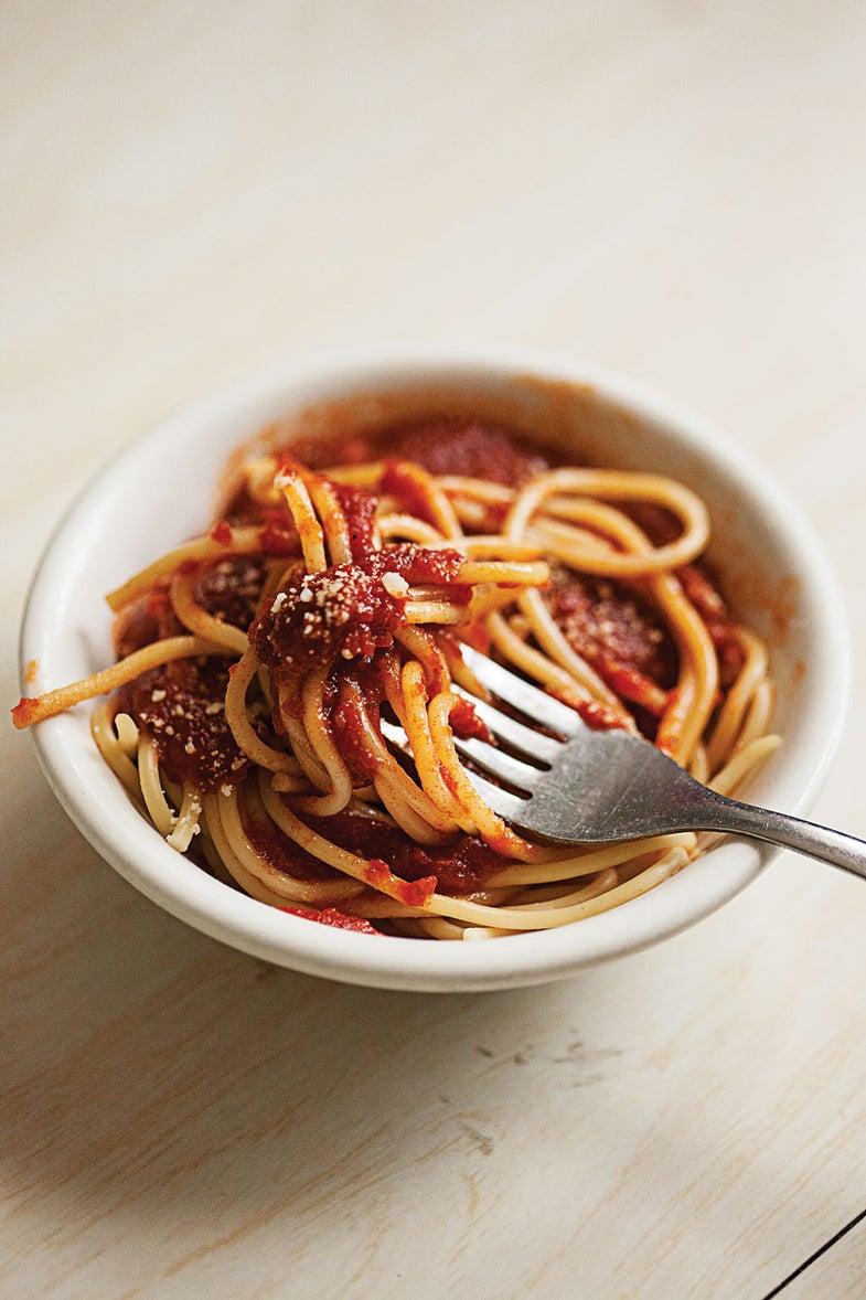 Steakhouse Spaghetti Marinara