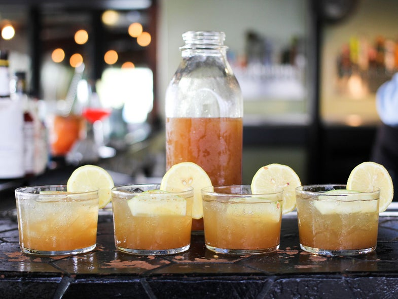 Spiced Apple Punch