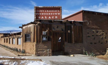 How a Fake Movie Town Spawned a Real Old West Bar