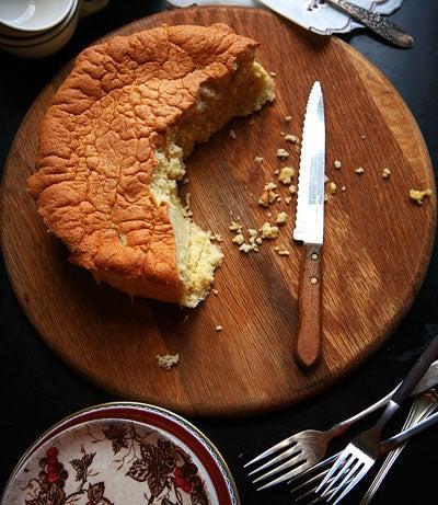Vin Santo Chiffon Cake