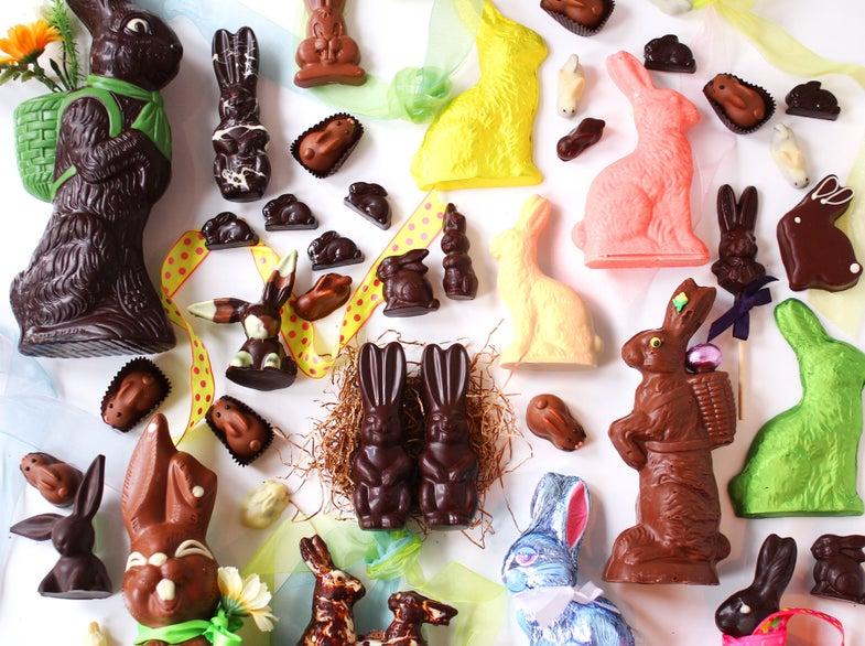 Chocolate Bunnies that Break the Mold