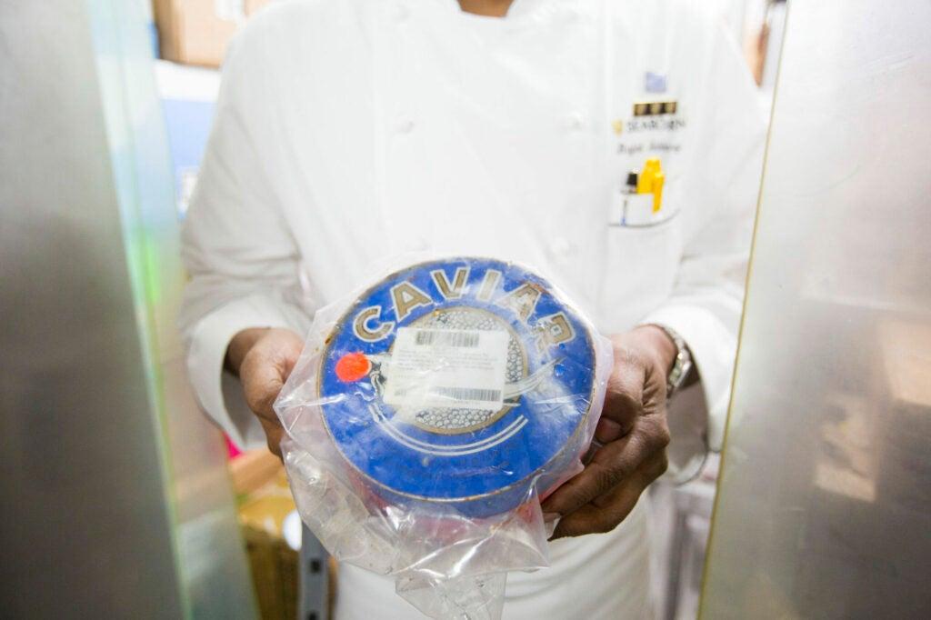 Caviar on demand? Yes, please.