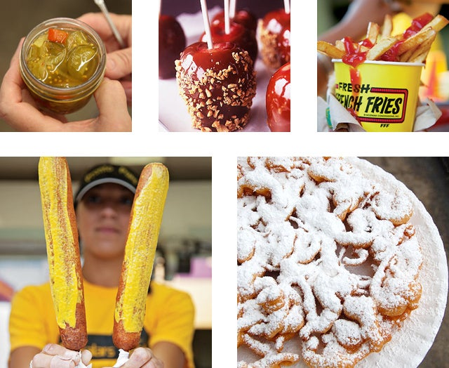 Menu: An Afternoon at the State Fair