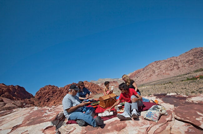 Behind the Photo: Picnic at Red Rock Canyon