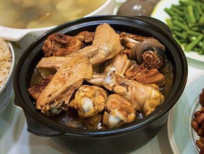 Sesame Oil Chicken (Ma You Ji)