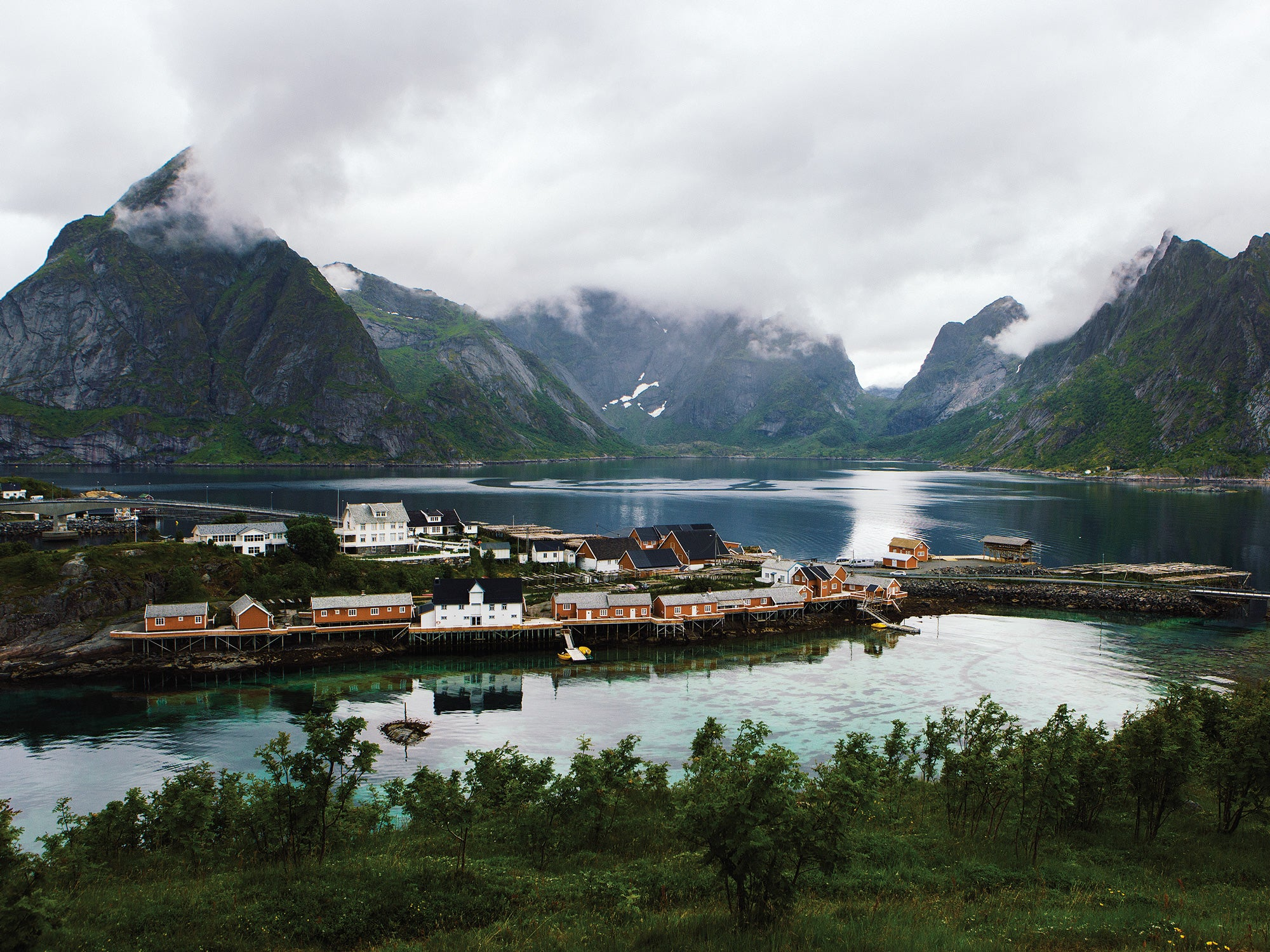 The remote archipelago of the Lofoten Islands, Norway