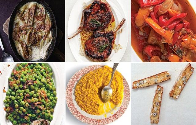 Menu: A Festive Italian Feast