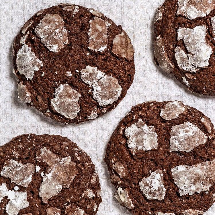 Chocolate Mint Krinkles