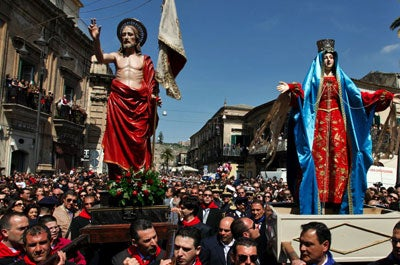 Holy Week in Sicily