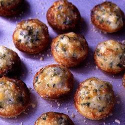 Onion–Cheese Puffs