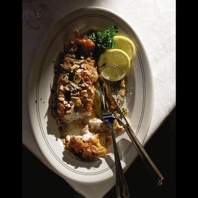 Trout with Brown Butter and Almonds (Trout Meunière Amandine)