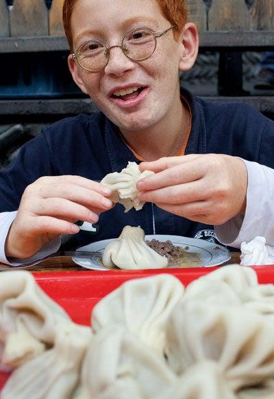 Khinkali (Georgian Dumplings)