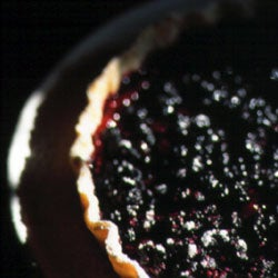 Tarte aux Myrtilles (Wild Berry Tart)