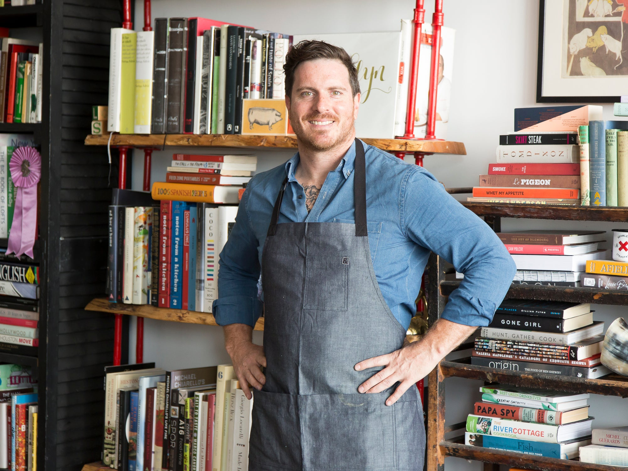 At Home With Seamus Mullen