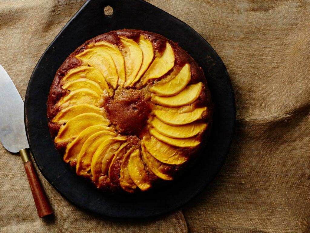 Mango and Pumpkin Spice Cake