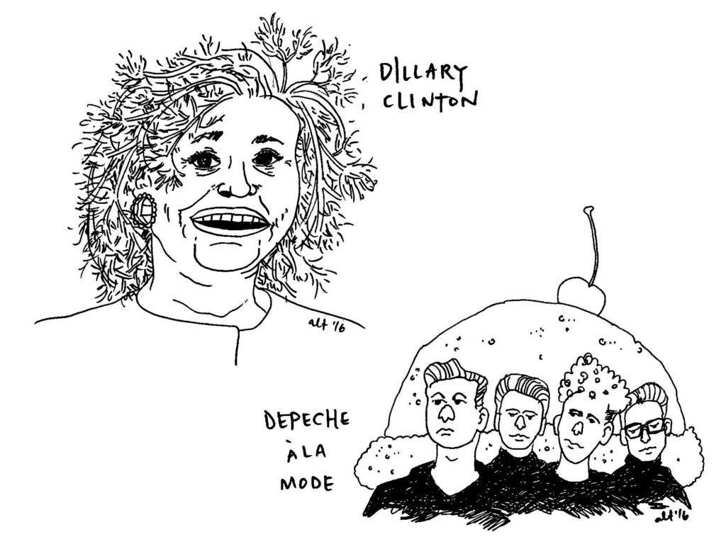Dillary Clinton | Depeche a la Mode