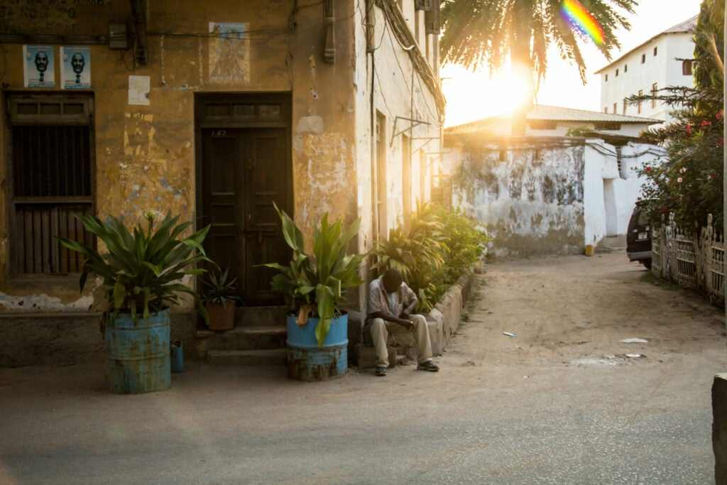 Ramadan Sunset in Zanzibar