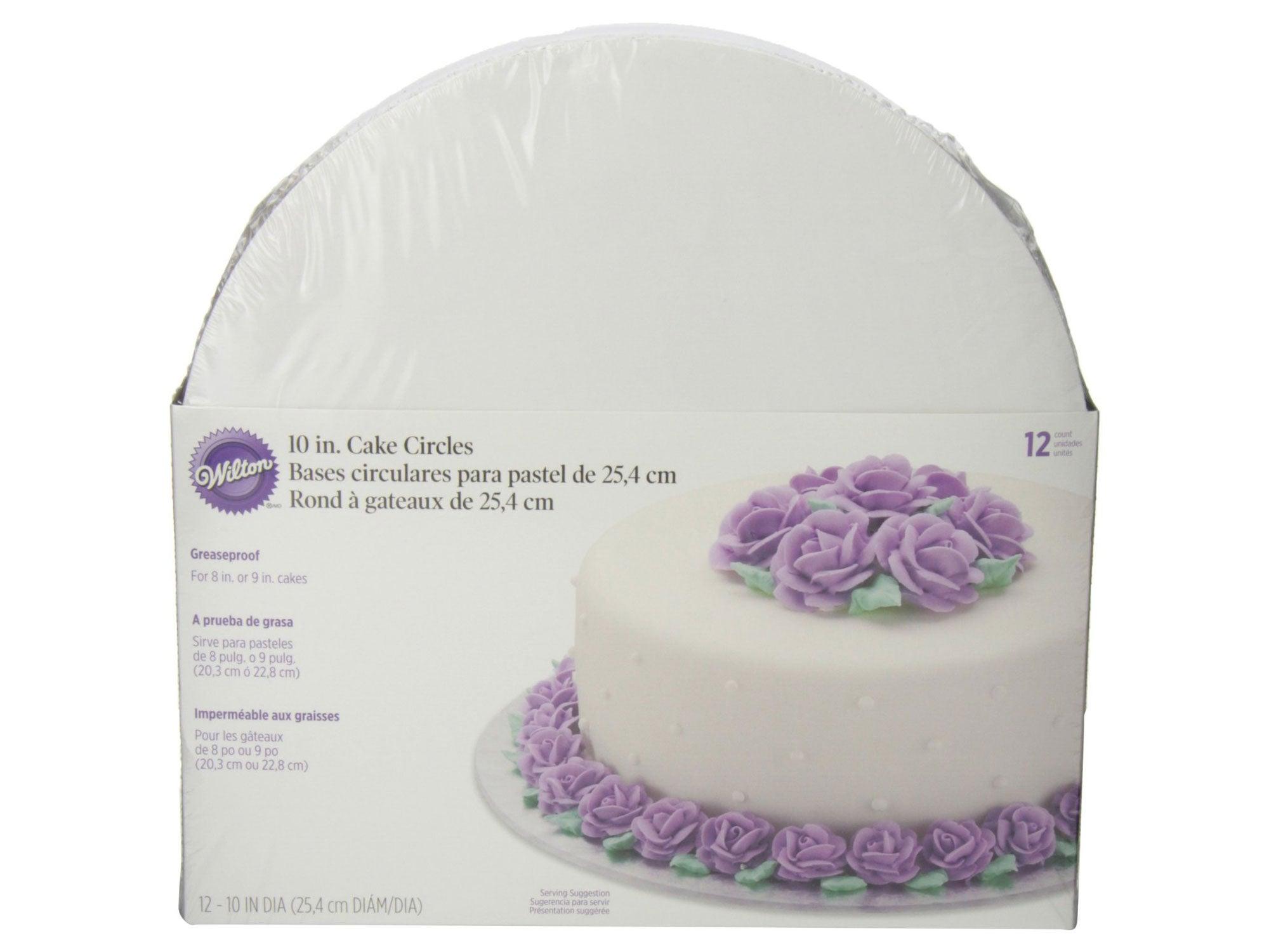 Wilton Cake Circles