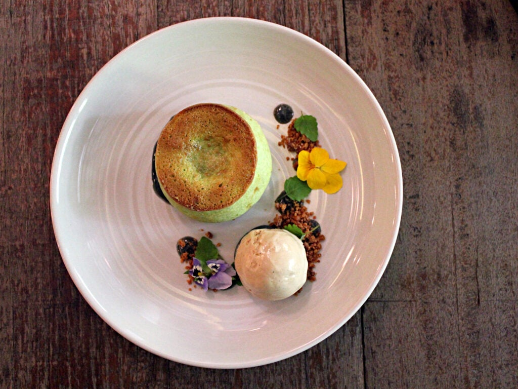 Sweet Celadon dessert, Pidgin Kitchen and Bar, Singapore