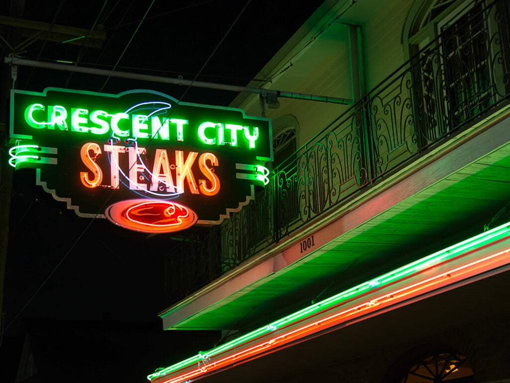 New Orleans Crescent City Steaks