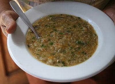 Crab Soup (Sopa de Caranguejo)