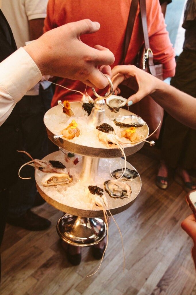 If you think anything is better than a cold seafood tower, you're wrong.