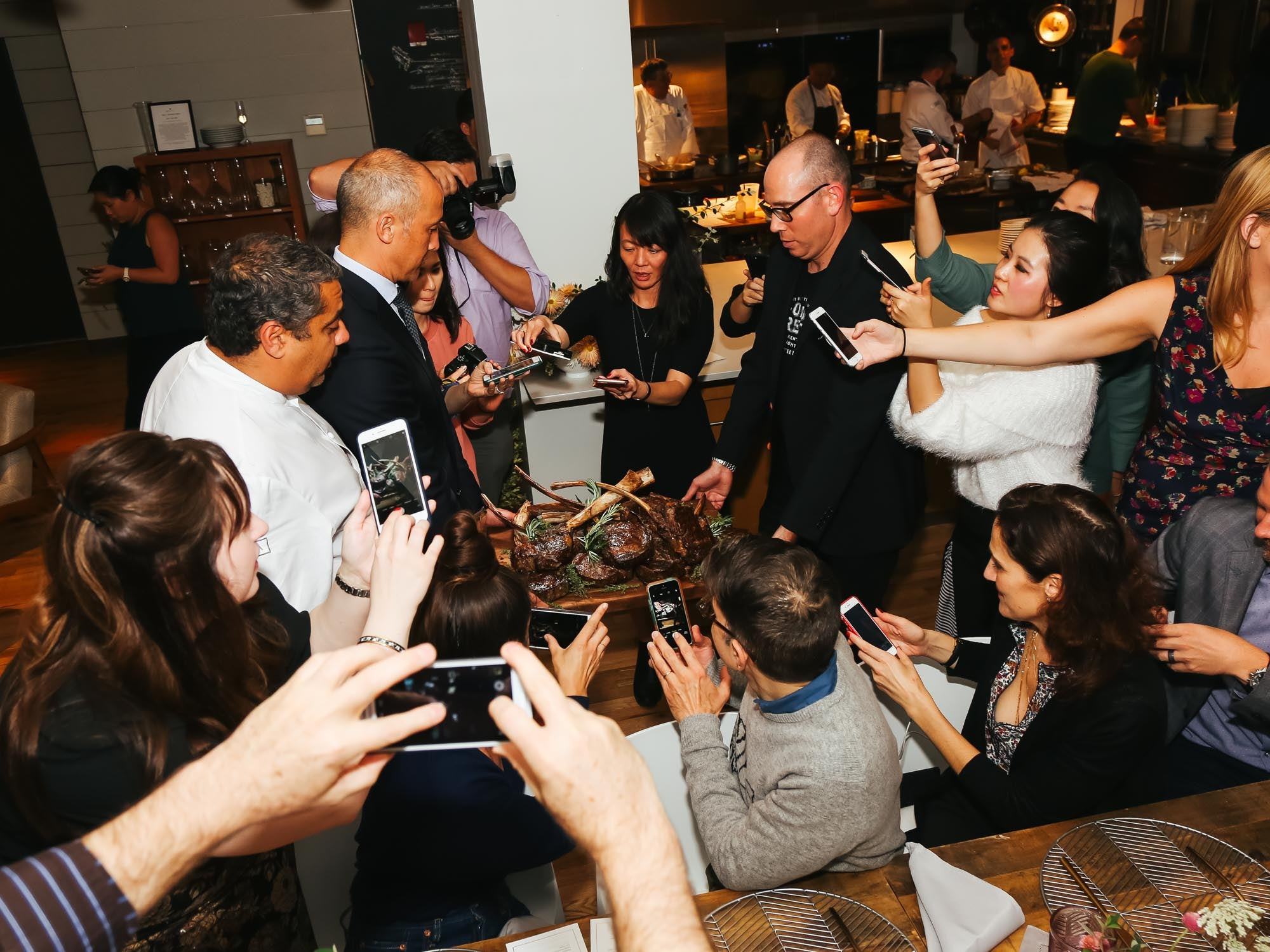 Scenes From Our Saveur Supper With Chef Michael Mina and JW Marriott