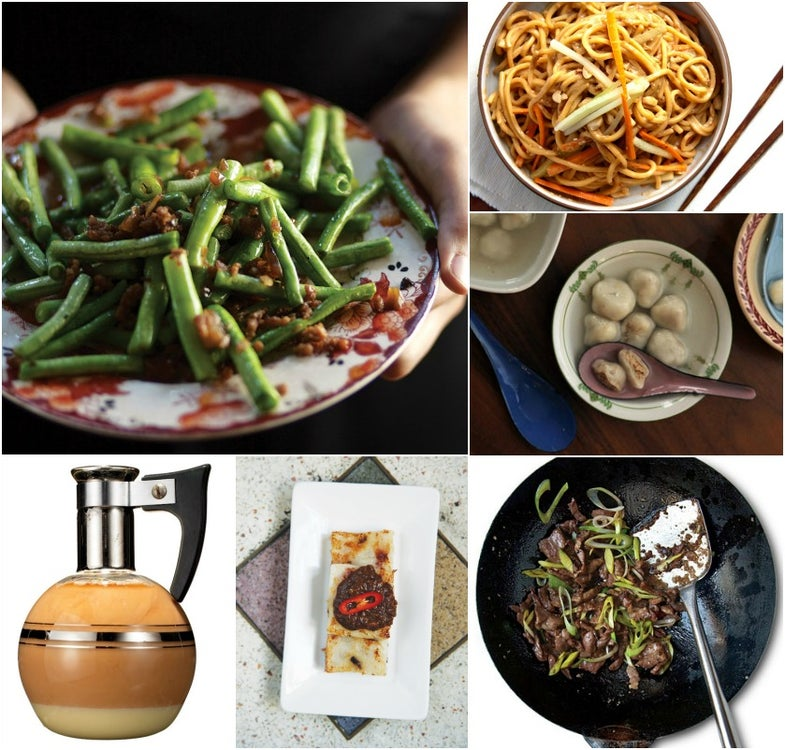 Menu: A Feast for Chinese New Year