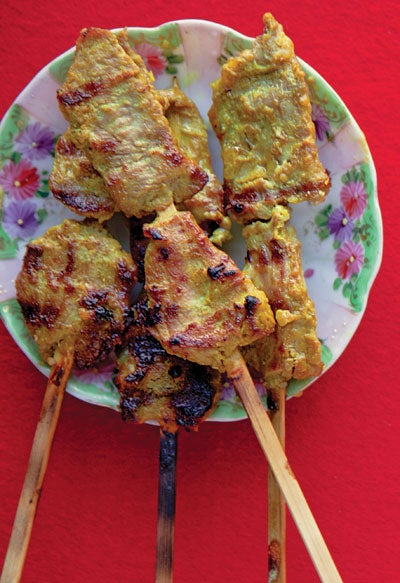 Thai Pork Satay (Muu Satay)