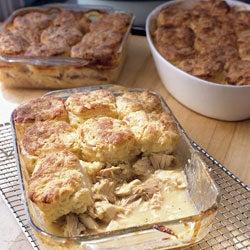 Making Vermont Chicken Pie
